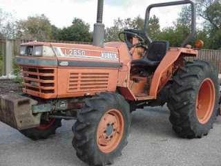 Kubota L2850 4WD tractor 34 H.P. Kubota diesel engine nr will ship