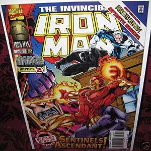 IRON MAN (#332) Marvel Comic (1968 series) NM