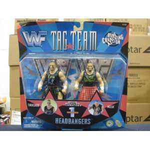 WWE TAG TEAM SERIES 1 HEADBANGERS ACTION FIGURE: Toys