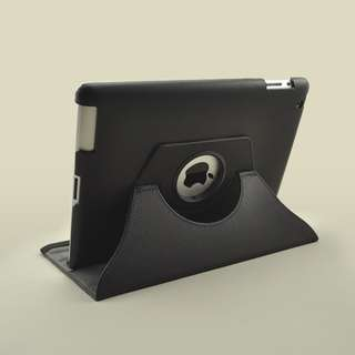 EXECUTIVE LEATHER FLIP CASE COVER STAND FOR IPAD 2 3G + FREE SCREEN