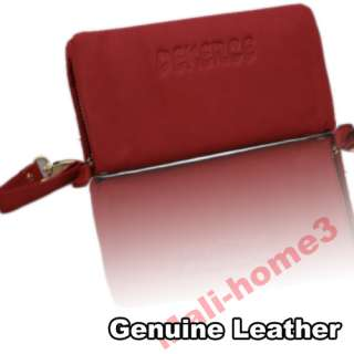 Red Stylish Ladies Women Leather Wallet Clutch Purse