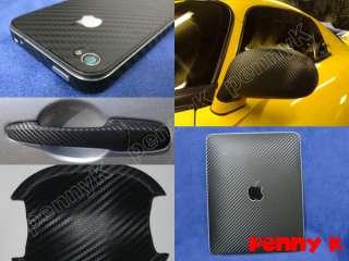 3D CARBON FIBER VINYL wrap 50 x 63 DARK BLUE #F