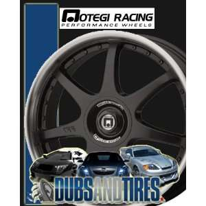 Inch 16x7 MOTEGI RACING wheels FF7 Gloss Black wheels rims: Automotive