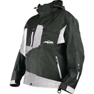 PEAK SNOWBOARD/SNOWMOBILE/SKI JACKET black/white Sports & Outdoors