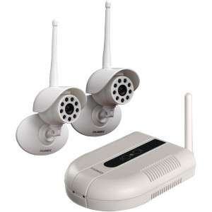 LW1002W LIVE INDOOR/OUTDOOR WIRELESS SECURITY CAMERA SYSTEM