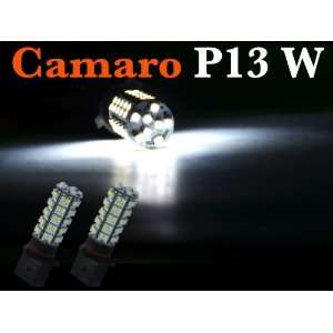Diamond White 68 smd P13w LED Daytime Fog Lights Bulbs Chevy Camaro