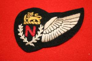 RHODESIA RHODESIAN AIR FORCE NAVIGATOR WING N BADGE UDI
