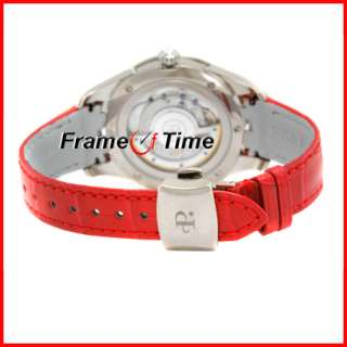 Perrelet Ladies Diamond Flower Red Ruby Watch A7005/1