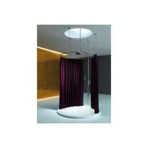 Kaldewei Piatto Shower Ring & Curtain Hooks 8020