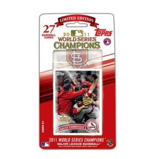 2011 Topps ST LOUIS CARDINALS World Series Champions Factory Sealed