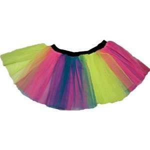 Multi Tutu Skirt Petticoat Punk Rave Dance Fancy Costume Dress Party