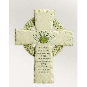 Cross Irish Claddagh Ring Symbol Faithstones Dance Sing Live 47711b