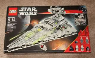 NEW LEGO STAR WARS IMPERIAL STAR DESTROYER 6211 SEALED
