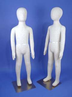 K06 + K07 Totally Flexible & Bendable Kid Mannequins