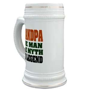 Grandpa   The Legend Funny Stein by CafePress:  Kitchen