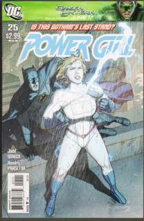 Power Girl #25 Guest Starring Batman. NM condition.