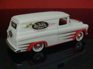 Von Dutch 57 Chevrolet Panel Delivery 1/64 Scale Ltd EdItion 5