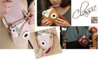 cover for Fuji Instax Mini Polaroid Camera Mini 7s brown pink