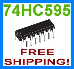 M74HC595B1R 74HC595 74595 8 bit Shift Register IC