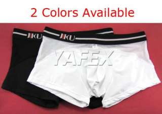 Translucence Mens boxers trunks home pants side logo underwear