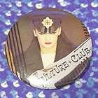 CULTURE CLUB BOY GEORGE VINTAGE LICENSED BUTTON 80s ROC