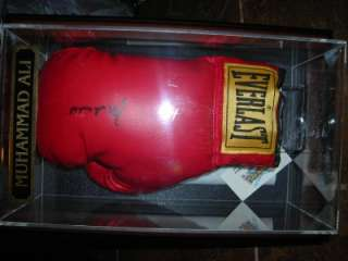 Authentic Signed MUHAMMAD ALI Boxing Glove