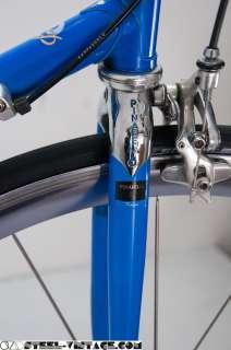 Pinarello Stelvio Steel Road Bicycle   Campagnolo Record, Mavic Cosmic