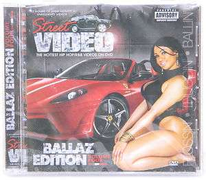 NEW  Street Video Promo Only Rap/Hip Hop Music DVD R&B Ballaz Edition