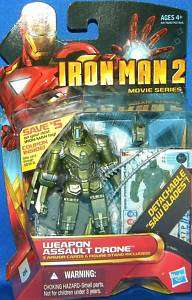 Iron Man 2 Movie Comic Series WEAPON ASSAULT DRONE #16