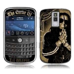 MS LILW10007 BlackBerry Bold  9000  Lil Wayne  Gold Skin Electronics