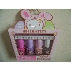 Hello Kitty Easter Nail Polish & Sticker Set Toys & Games