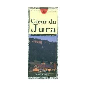 Jura 150,000 Hiking Map (#33) (3282117900337) Didier Richard Books