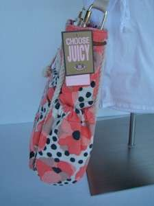 COUTURE Floral Diaper Stroller Bag w/ Changing Pad, Bib, & Burp Cloth