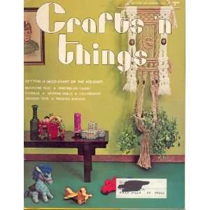 Things October November 1976 (2) varied, Kay Dougherty Books