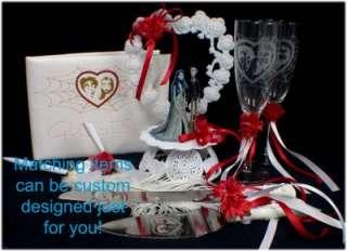 GOMEZ Morticia ADDAMS Family Wedding Cake Topper LOT EC