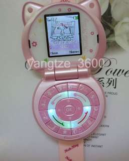 Fashion Hello Kitty watch cell phone mp4 camera cute