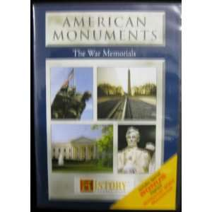 Channel American Monuments The War Memorials DVD