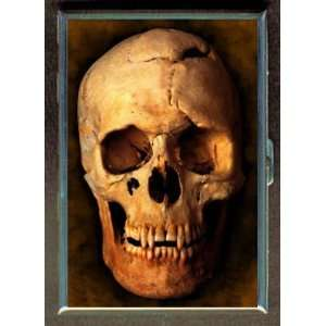 KL SKULL GOTH EMO CREEP DARK ID CREDIT CARD WALLET CIGARETTE CASE