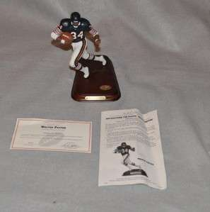 WALTER PAYTON Figure in Orig Box Chicago Bears HOF Football
