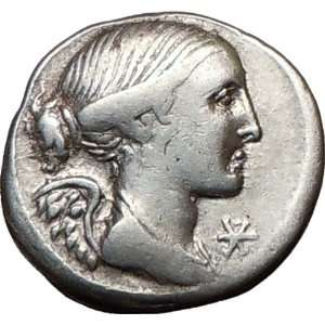 Republic L. Valerius Flaccus CONSUL Victory & Mars Ancient Silver Coin