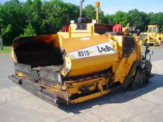 2008 Leeboy 8515 Asphalt Paver Cream of Pavers Clean