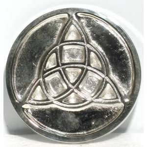 Metal Triquetra Altar Tile 3 Wicca Wiccan Metaphysical Religious New
