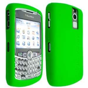 Green High Quality Soft Silicone For Blackberry Curve 8300