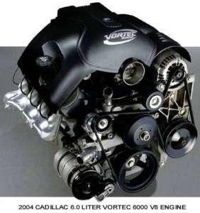 2004 CADILLAC ~ 6.O LITER VORTEC 6000 V8 ENGINE~ MAGNET