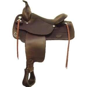 Tex Tan Hereford Waverly Flex Tree Trail Saddle