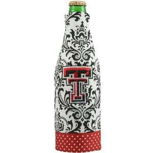 NCAA Texas Tech Red Raiders Wallpaper Canvas 12oz. Bottle
