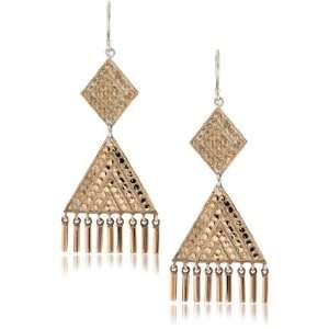 Anna Beck Designs Lombok 18k Rose Gold Plated Chandelier Bar