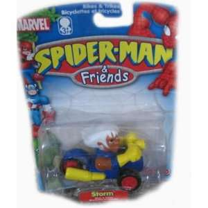 Marvel Spider Man & Friends Bikes & Trikes Storm Vehicle Toys & Games