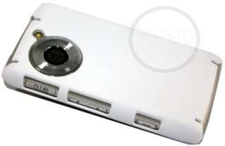 Magic Store   WHITE HYBRID HARD BACK CASE FOR LG VIEWTY SMART GC900
