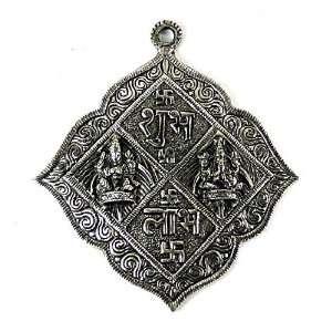 GANESH LAXMI WALL HANGING ~ Shubh Labh Talisman For Prosperity